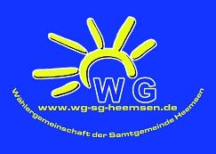 Aufkleber©WG in der SG Heemsen
