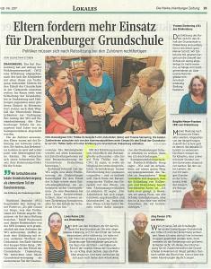Bericht aus der Tageszeitung